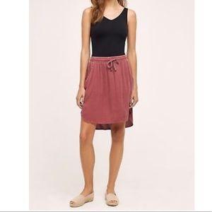 Anthropologie Saturday Sunday Girlfriend Day Skirt